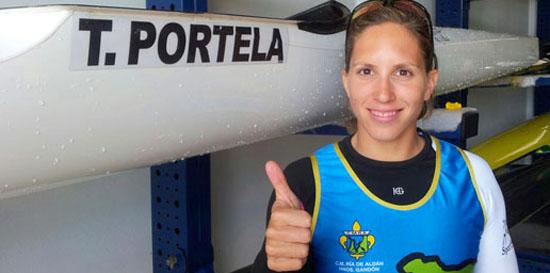 Teresa Portela Clube Aldán