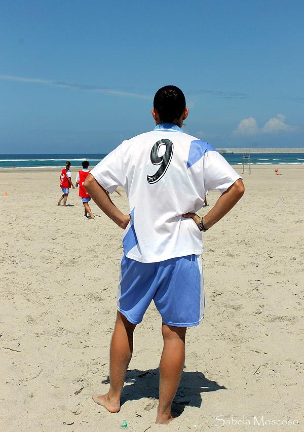 Adestramento Irmadiña Fútbol Praia en Sabón (Arteixo)